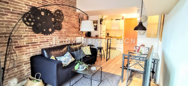 Furnished apartment in El Raval, Rambla del Raval