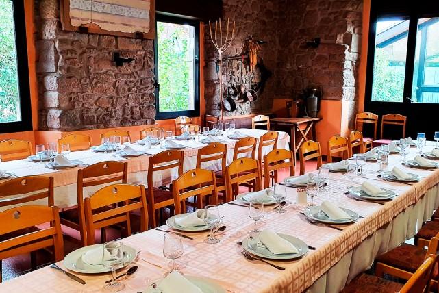 Histórico restaurante en actividad en Gaià, Catalunya